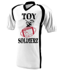 TOY SOLDIERZ - Custom Heat Pressed Youth Two Color  Raglan Football Jersey  - 9531 - 95312048 8d0d65b479e12842016164741884
