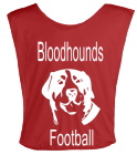 BLOODHOUNDS-FOOTBALL DISCONTINUED Youth Football Scrimmage Vest - Teamwork Athletic - 2361