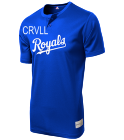 CRV Royals MLB 2 button Youth Jersey - MLB181