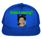 KENZIE IS AMAZING!! KENZIE IS AMAZING!! - Solid Color Cotton Snapback   - 6007 - 60072049 - Custom Heat Pressed aec1731da7822762016225116915