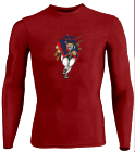 Name-Your-Design DISCONTINUED Youth Stretch Tight Long Sleeve Jersey - Teamwork Athletic - 1812