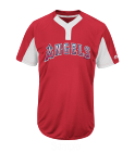 KYKO 27 - Custom Heat Pressed Youth Angels Two-Button Jersey - Angels-MAIY83 - Angels-MAIY832027 44282907e11b47201645755311