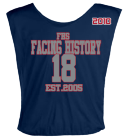 FACING-HISTORY-18-EST2005-2010-FHS-MOESOW-18-THEGOLDENBOY DISCONTINUED Youth Football Scrimmage Vest - Teamwork Athletic - 2361