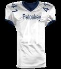 Petoskey Away Jersey - Custom Heat Pressed Reversible Football Jersey Adult -1357 - 13572049 051f0593d960285201694437278