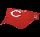 COACH-C Cincinnati Reds - Official MLB Visor Softball League
