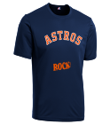 ROCK! - Custom Heat Pressed Astros Youth Wicking MLB Replica Jersey - M1261 - Astros-M12612025 6deb4e7445dd562014151032807