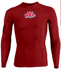 Name Your Design - Youth Stretch Tight Long Sleeve Jersey - Teamwork Athletic - 1812 - 18122046 - Custom Heat Pressed 2bd66745362a237201695931158