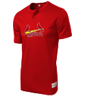 12 Youth Cardinals Two-Button Jersey - Cardinals-MAIY83