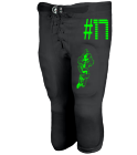 #17 - Youth Shotgun Football Pants - Teamwork Athletic - 3319 - 33192045 - Custom Heat Pressed 4333229d281c20112014225139391