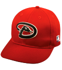 Gaitan - Arizona Diamondbacks - Official MLB Hat for little kids leagues - D_backs_Baseball_Hat_2752021 - Custom Heat Pressed b81d774fe92a23201693818991