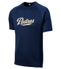 GWYNN 19 - Custom Heat Pressed Padres Adult MLB Replica T-Shirt - 5300 - Padres-53002023 134227deb1a517201518055577
