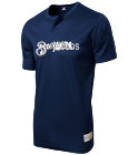 JACOBS - Custom Heat Pressed Brewers Youth 2-Button MLB Jersey - MLB181 - Brewers-1812031 907c7871990997201515272710
