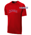 HAMMON HAMMON - Custom Heat Pressed Angels Adult MLB Replica T-Shirt - 5300 - Angels-53002035 f93abf9e2b10154201615350501