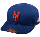 Name Your Design - New York Mets - Official MLB Hat for Little Kids Leagues - Mets_Baseball_Hat_2752025 - Custom Heat Pressed 35cbd41fc3e963201684847276