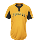 15 - Custom Heat Pressed Custom Pirates Two-Button Jersey - Pirates-MAI383 - Pirates-MAI3832045 1e77cfbb59d7245201610543146
