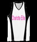 CHARLOTTE-ELITE DISCONTINUED Girls Wicking Mesh Basketball Jersey - 514