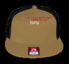 TONY - Custom Flat Bill Snapback - 511 - 5112026 - Custom Heat Pressed 1a3cb3418b9155201624918587