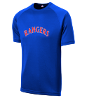 00 - Custom Heat Pressed Rangers Adult MLB Replica T-Shirt - 5300 - Rangers-53002037 a07a5a416420183201616156934