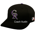 - Colorado Rockies - Official MLB Hat for Little Kids Leagues - Rockies_Baseball_Hat_2752026 - Custom Embroidered dd0caaae997e732016201313540