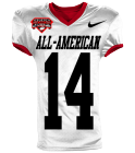 ALL-AMERICAN 8 8 LAKE A.LAKE - Custom Heat Pressed Reversible Football Jersey Adult -1357 - 13572031 a501679cb623105201651741730