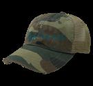 ON THE RISE - Distressed Vintage Snapback -110 - 1102038 - Custom Heat Pressed cf58fda0a4291310201563012883