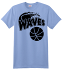 Basketball T-shirt Design Waves 59dd9de63f30e5dde0f7c