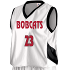 BOBCATS 23 - Custom Heat Pressed Augusta Youth Basketball Tri-Color Dazzle Game Jersey - 769 - 7692038 33953d64586e12112015108148