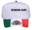 SPANISH-CAMP LFMG WW MX DISCONTINUED DISCONTINUED Pre Printed Golf Otto Cap 57-107