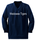WEDOWEE-TIGERS-6 Youth Solid Color Wind Shirt