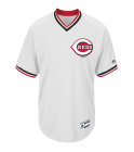 CAMERON 13 - Custom Heat Pressed Youth Reds V-Neck Cool Base Jersey - MGY08-REDS - MGY08-REDS2031 7b819d12d37211420160549568