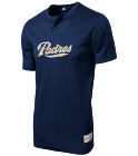 1 - Custom Heat Pressed Padres MLB 2 button Youth Jersey  - MLB181 - Padres-1812037 222220821a9c1572015195245229