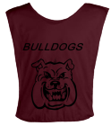 BLACK-MAMBAS DISCONTINUED Youth Football Scrimmage Vest - Teamwork Athletic - 2361