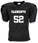 CLEMENTS-52-BLANKENSHIP-52 DISCONTINUED Youth Blitz Steelmesh Football Jersey - Teamwork Athletic - 1360