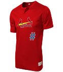 - Youth Cardinals Two-Button Jersey - Cardinals-MAIY83