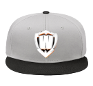 #TEAMWASHO - Snap Back Flat Bill Hat - 125-1038 - 125-10382037 - Custom Embroidered 699886695d4c184201575050755