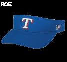 ROE- Texas Rangers - Official MLB Visor Softball Leagues