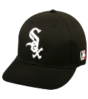 EDDIE JR. EDDIE JR. - Chicago White Sox - Official MLB Hat for Little Kids Leagues - WhiteSox_Baseball_Hat_2752027 - Custom Heat Pressed a03c83cd54fb742016141015420