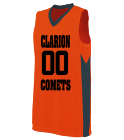 comets Ladies Two Color Sleeveless Jersey