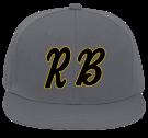 Rialto Baseball  - Flat Bill Fitted Hats 123-969 - 123-9692048 - Custom Heat Pressed 131cdba0782824102014134958164