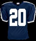 20 DISCONTINUED Youth Blitz Steelmesh Football Jersey - Teamwork Athletic - 1360