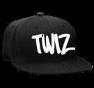 TWIZ - Snapback Flat Bill Hat - 125-978 - 125-9782020 - Custom Heat Pressed 28b519dd4495142015211521555