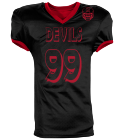 MILLER 99 DEVILS 99 - Custom Heat Pressed Reversible Football Jersey Adult -1357 - 13572046 071449a6488d219201671241727