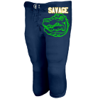 SAVAGE - Youth Shotgun Football Pants - Teamwork Athletic - 3319 - 33192053 - Custom Embroidered 16a73e83826d2810201592019765