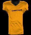 CHEETAHS - Custom Heat Pressed Reversible Football Jersey Adult -1357 - 13572048 0c992ac6343c257201615156425
