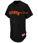 Aidans-Mom Giants Official MLB Full Button Youth Jersey - MAHD684Y