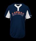 33125 Custom Astros Two-Button Jersey - Astros-MAI383