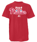CVYL-Phillies Phillies Adult MLB Replica Jersey  - MAG223
