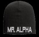 "MR. ALPHA - 9"" Beanie Otto Cap 82-481 - 82-4812054 - Custom Heat Pressed 9eb4ee3dbd133010201484710868"