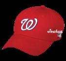 JOSHUA Washington Nationals- Official MLB Hat for Little Kids Leagues