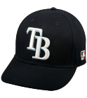 17104 FINAL - Tampa Bay Rays - Official MLB Hat for Little Leagues - TampaBayRays_Baseball_Hat_2752035 - Custom Embroidered 203b16c7a5ff1832014103924452